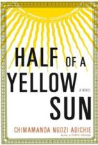 half of a yellow